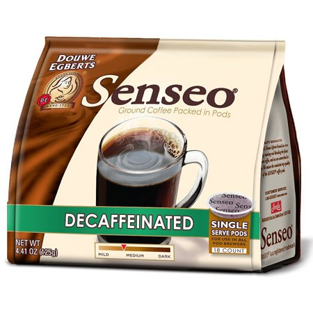 Senseo Coffee Pods - Decaffeinated 18-Count (Pack Of 6)