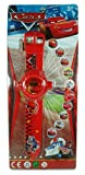 Disney Pixar Cars Children Red Digital LCD Watch with 10 Image Projector Toy Attachment
