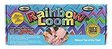 Rainbow Loom RLSt393 - Original Deutsches Starterset, NEU jetzt mit Metallnadel, 600 B�nder, 24 Clips, Webrahmen
