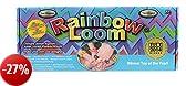 Rainbow Loom RLSt393 - Set per creare bracciali, 600 elastici colorati, 24 ganci di chiusura