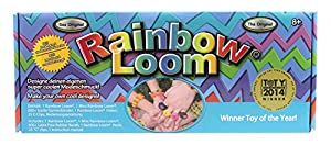 Rainbow Loom RLSt393 - Original Deutsches Starterset, NEU jetzt mit Metallnadel, 600 Bänder, 24 Clips, Webrahmen