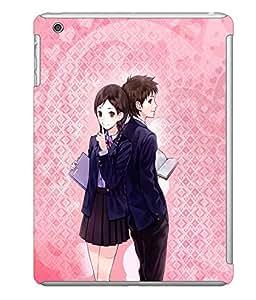 Fuson 3D Printed Love Designer back case cover for Apple iPad Mini - D4605