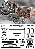 Prewoodec Cockpit Dekor f�r Landrover Discovery SALLJG 01.90 bis 01.99 Wurzelholz (Exklusive 3D Fahrzeug-Ausstattung - Made in Germany)