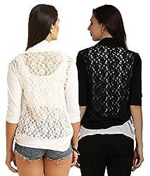 Women's Shrugs(Pack of 2)