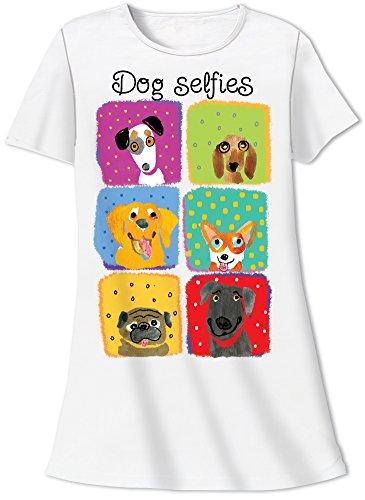 Nightshirt Says Dog Selfies