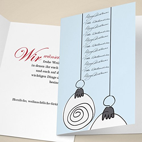 4er-Set-Edle-Weihnachtskarten-mit-Weihnachtskugeln-hellblau-mit-ihrem-Innentext-Var5-drucken-lassen-als-Weihnachts-Gru-Neujahrskarte-Firmen-Weihnachtskarte-fr-Kunden-Geschftspartner-Mitarbeiter-Merry-