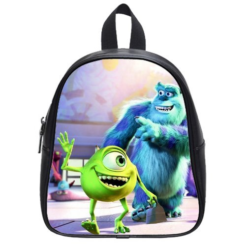 Monsters Inc High-Grade Pu Leather School Bag/Backpack(Medium) front-223261
