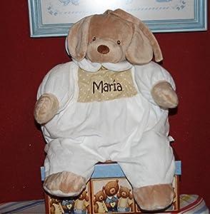 PRIMERAEDAD/ Muñeco guarapañales personalizado con mombre/color beige/ en Bebe Hogar