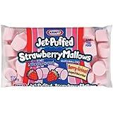 Kraft, Jet-Puffed, Strawberry Marshmallows, 8 oz Bag
