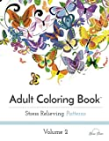 img - for Adult Coloring Book: Stress Relieving Patterns Volume 2 book / textbook / text book