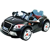 12V TWIN MOTORS AUDI TT STYLE RECHARGEABLE KIDS Picture