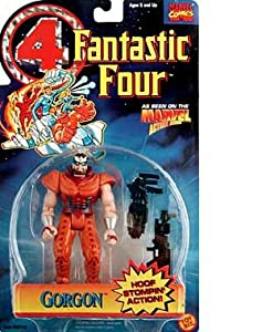 Fantastic Four Gorgon Action Figure