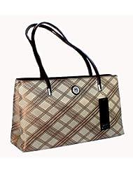 Designer Branded Faux Leather Ladies Handbag Shoulder Bag - B00KMW67B2