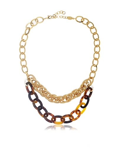 a.v. max 2-Row Tortoise Chain Necklace