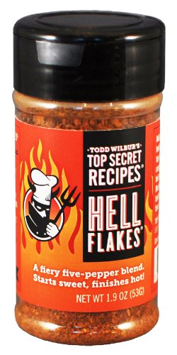 Todd Wilbur's Hell Flakes® - As Seen on Dr. Oz! (Bbq Sauce From Hell compare prices)