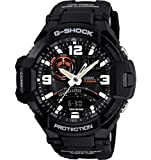 Casio G-Shock Black Dial Men's Quartz Watch - GA1000-1A