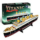 Medium RMS Titanic Ship 3D Puzzle