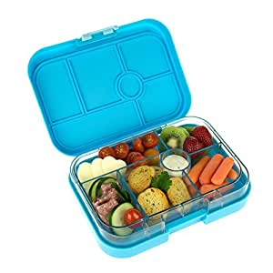yumbox leakproof bento lunch box container gelato blue for kids kitchen dining. Black Bedroom Furniture Sets. Home Design Ideas