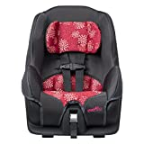 Evenflo-Tribute-LX-Convertible-Car-Seat-Pink-Mums