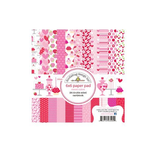 Sweet Cakes 6X6 Paper Pad (Doodlebug Designs)