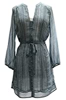 Joie Jivani Woven Dress in Pale Ocean