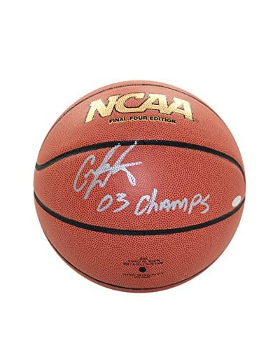 Steiner Sports Memorabilia Carmelo Anthony Autographed NCAA Basketball Inscribed 03 Champs