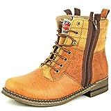 Lee Fog Mens Javan Genuine Leather High Anklet Tan Genuine Leather Casual Boots UK 10