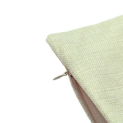 Luxbon verwelkt Baum Kissenbezug 45 x 45 cm Lendenkissen Bettkissen Pillowcase Hülle Haus Couch Stuhl Zimmer Auto Deko -