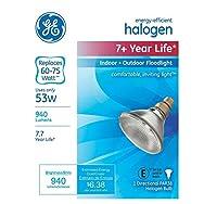 GE Lighting 67823 PAR38 Halogen Floodlight Light Bulb-53 WATT HALOGEN PAR XL
