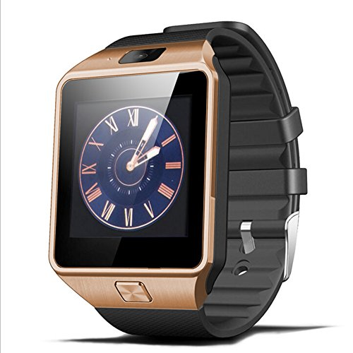Padgene® Bluetooth Camera Smart Watch Wrist Watch Compatible with Android Samsung HTC Sony LG Huawei Motorola Smartphopne