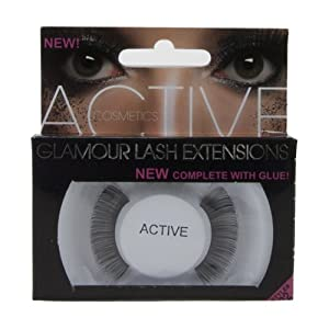 Active Cosmetics False Eyelashes - Style 02