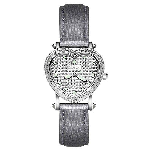 Joe Rodeo crotalo reloj de pulsera para mujer - Mini Heart plata 0.27 estación