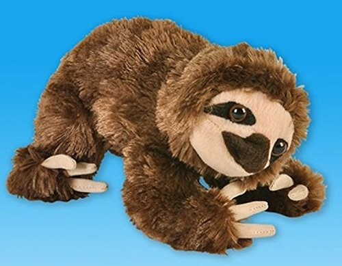 "1 X 8"" Brown Sloth Bear Plush Stuffed Animal Toy - 1"