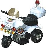 電動子供用バイク 白バイ 耐荷重30キロ サウンド機能搭載 充電式