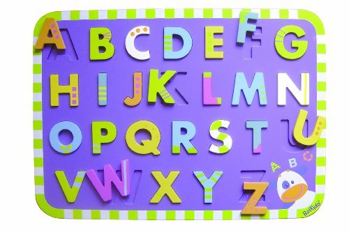 51b9ZdW%2B4AL Buy  Boikido Wooden Chunky Letter Puzzle