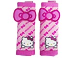 A Set of 2 Hello Kitty Pink Mesh Seat Belt Pads