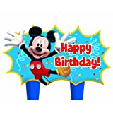 Mickey Mouse Mini Molded Candles - 4/Pkg.