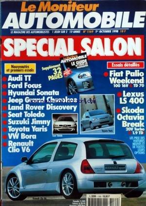 moniteur-automobile-le-no-1169-du-01-10-1998-essais-special-salon-audi-tt-ford-focus-hyundai-sonata-