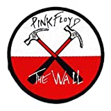 PINK FLOYD Official Merchandise Product Sew-On-Patch New THE WALL HAMMERS