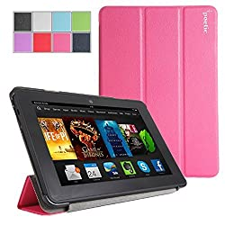 Poetic Slimline Case for New Kindle Fire HDX 7 (2013) 7inch Tablet Magenta (3 Year Manufacturer Warranty From Poetic)