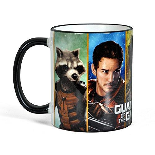 Guardians of the Galaxy - Tazza della Marvel con motivo di Rocket, Groot, Star Lord, Drax, Gamona - Licenza ufficiale