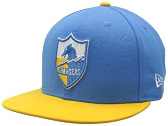 NFL San Diego Chargers Historic Logo 59Fifty Fitted Cap by New Era
