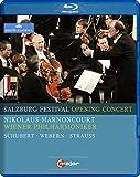 Salzburg Festival Opening Concert [Nikolaus Harnoncourt, Vienna Philharmonic Orchestra] [C MAJOR ENTERTAINMENT: BLU RAY] [Blu-ray]