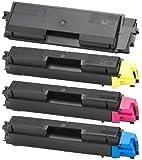 Bubprint® 4 Toner kompatibel für Kyocera TK-580 FS-C5150DN Multipack SET