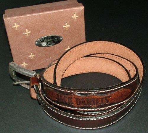 Jack Daniels - Cintura in pelle