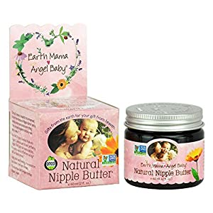 Earth Mama Angel Baby Natural Nipple Butter (Pack 3) by Earth Mama Angel Baby