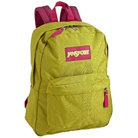 JanSport Classic SuperBreak Backpack, Newbud Green