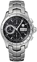 TAG Heuer Men s CJF211A BA0594 Link Automatic Chronograph Day-Date Watch