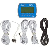"Supco DVT4 Data View 4-Channel Temperature Data Logger with Display, 4"" Length x 3-3/64"" Width x 1-1/2"" Height"