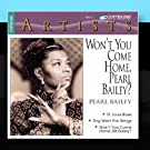 Won't you come Home Pearl Bailey?